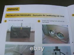 1 Finning Deployable Air Conditioning Unit 15kw Ex Army Stores 3ph R407c Choice