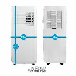 12000 BTU 3-in-1 Portable Air Conditioner Mobile Air Conditioning Unit