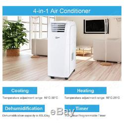 12000BTU/3500W 4-in-1 Portable Air Conditioner Unit Cooler Heat Conditioning New