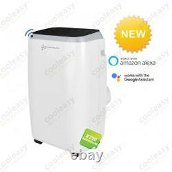 12500 btu Portable Air Conditioning Heat Pump / Wifi App / Plug & Play New