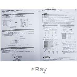 18000btu Air Conditioner Unit Cooler Split Conditioning Inverter Ac Wall Mount