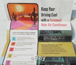 1971 Ford F-150 F-250 Underdash Air Conditioning Unit- Evaporator, Controls, Etc