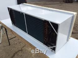 3.2 kw AIR CONDITIONING WALL UNIT HEAT / COOL bedroom GARDEN ROOM DIY FIT