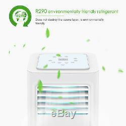 4in1 Eco 7000BTU Air Conditioner Portable Conditioning Unit 2.1KW Remote Class A