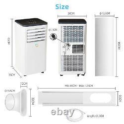 4in1 Wifi 9000BTU Air Conditioner Portable Conditioning Unit 2.6KW R290a Eco
