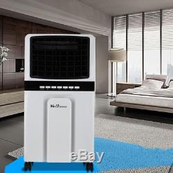 5L Heating & Air Conditioning Portable Unit Combined Heater Remote Control UK