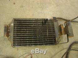 76-86 Jeep CJ A/c unit V8 304 360 401 air conditioning pump bracket dash setup