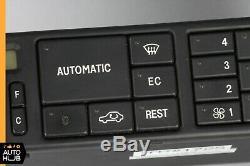 90-96 Mercedes R129 300SL SL500 SL320 AC A/C Heater Climate Control Unit OEM