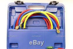 AC Air conditioning heat pump R410a R134a R404 Split unit Gauge manifold kit