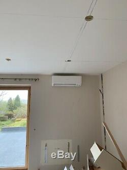 Air Conditioning Fitting Services. Wall Mounted Heat Pump Domestic Air Con