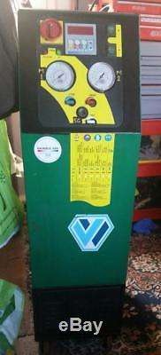 Air Conditioning Service Unit for Recovering Recycling Vacuum and Recharge