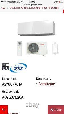 Air Conditioning Unit 2.5kw Fujitsu R32