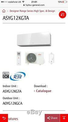 Air Conditioning Unit Fujitsu 3.5kw R32