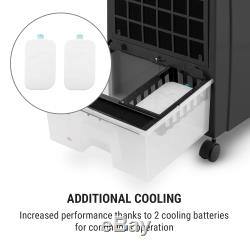 Air Cooler Portable Conditioning 4in1 Ice Pack Fan 2000W Heating Room Heater