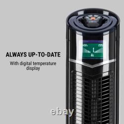 Air Fan Portable Conditioning Tower Oscillating Remote Adjustable Height Ioniser