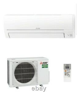 Air conditioning unit 2.5kw wall mounted installed. Call 07515357147