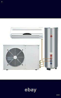 Air source heat pump water heater air conditioning and heating