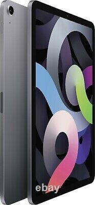 Apple iPad Air 4th Gen 64GB (2020) 10.9in Wi-Fi + 4G Space Grey Unlocked