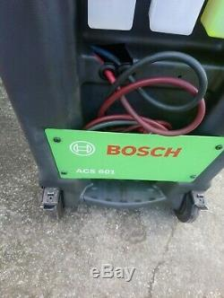 Bosch ACS 601 Fully Automatic AC Air conditioning service machine unit station