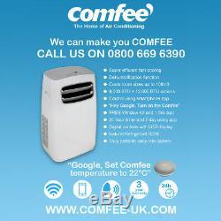 Comfee Portable Air Conditioning Unit PF12 12000BTU(3.6kW) FREE Google Home Mini