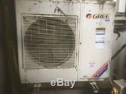 Commercial Gree air conditioning units, including exterior unit