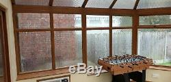 Conservatory glazing units, doors, air conditioning/heater unit