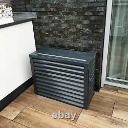 Cover for air conditioning or heat pump outdoor unit