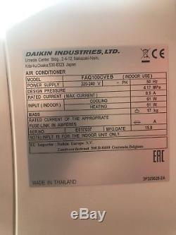 DAIKIN AIR CONDITIONING, Heating / Cooling Server Room, 10KW, 35000 BTU 240v