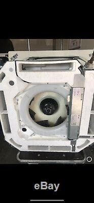 Daikin air conditioning 2 Compact heat pump units and 6 Compact roundflow casset