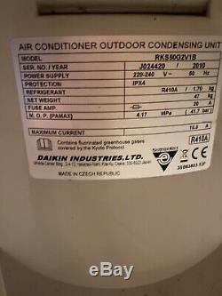 Daikin air conditioning unit 2010 Model