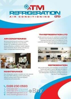 Daikin air conditioning unit 3.5kw with installation. 3 years warranty