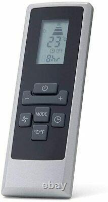 De'Longhi Air Conditioning Unit 2.5kW Eco Silent Portable Dehumidifier White