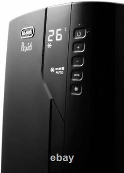 De'Longhi Air Conditioning Unit Portable Silent Pinguino 1050W Black PAC EX120