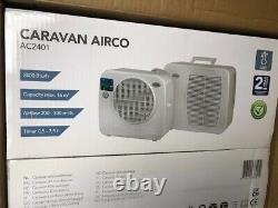 Eurom AC2401 split air conditioning for motorhome, caravan, boat, camping etc