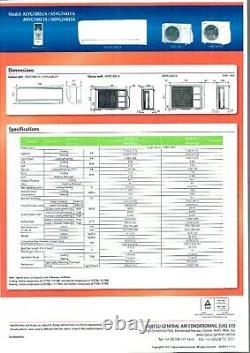 Fujitsu 7KW ASYG24KPCA- R32 Wall mount Air Conditioning System