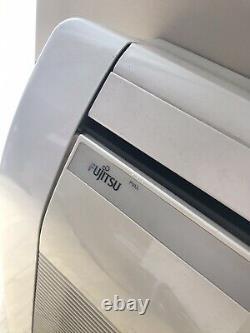 Fujitsu Inverter Heater Cooler Air Conditioning Unit Interior and Exterior