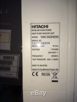 Hitachi RAK-250QHQ AIR CONDITION UNITS X 2 (doesn't include heat pump)