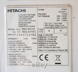 Hitachi Split Air Conditioning Unit with Heat Pump 5kw Cool 6kw Heat