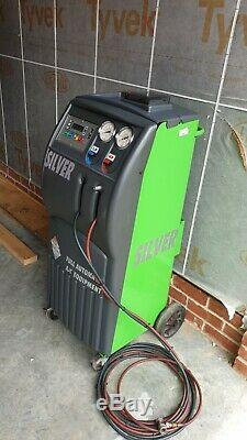 ISC Fully Automatic Air Conditioning Service Machine R134a Like Bosch Silver