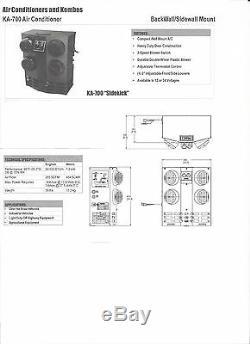 KA710 Kysor Truck Between the Seat AC Unit Truck Backwall Air Conditioning Unit