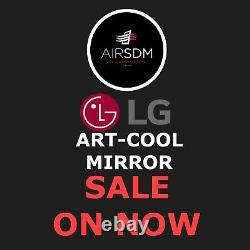 LG ART COOL MIRROR 3.5kw Supply & Fitted
