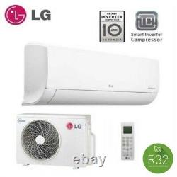 LG R32 STANDARD WALL MOUNTED SYSTEM 2.5kw Air Conditioning Unit Installed