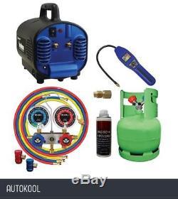 Mastercool R1234Yf Air Conditioning Set Up Kit