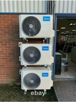 Midea 3.5kw Heating/Cooling Air Conditioning Unit FULLY FITTED R32 Wifi