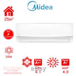 Midea Split Air Conditioner 12000 BTU Air Conditioning Unit 3.81kW Heat Pump AC