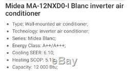 Midea Wall Mount 3.5kw Air Conditioning Unit. Supply And Installation