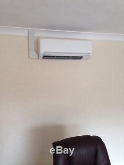 Mitsubishi 2.5-4kw air conditioning unit fully fitted 5 year warranty