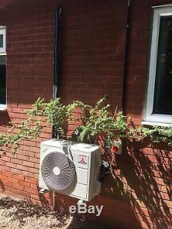 Mitsubishi Air Conditioning 4.5kw Wall Mounted Heat Pump R32 Domestic Air Con
