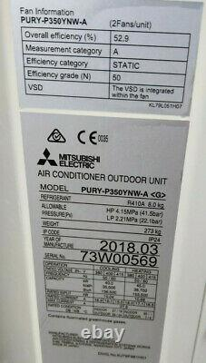 Mitsubishi Air Conditioning City Multi VRF Ducted PEFY-P63VMA-E2 PURY-P350YNW-A