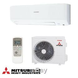 Mitsubishi SRK25ZSP Air Conditioner 2.5kW Wall Mount Air Conditioning System A++
